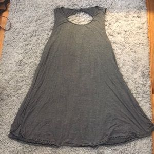 Striped Stretchy T-Shirt Dress